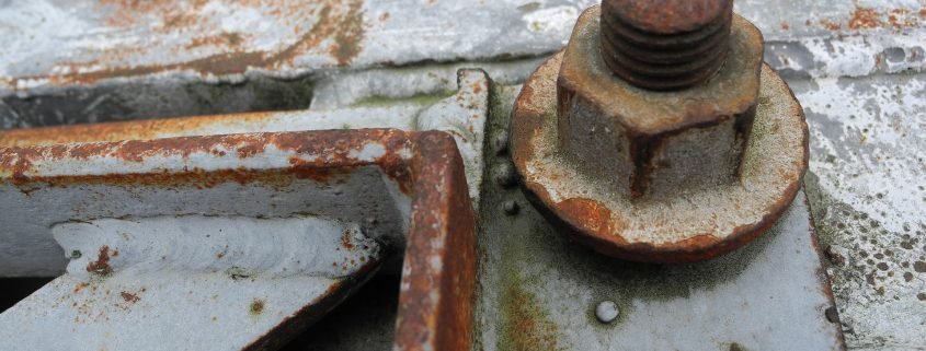 corrosion resistant coating for steel failing on bolts