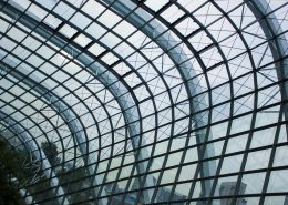 Coating steel on steel structures in buildings protect against corrosion