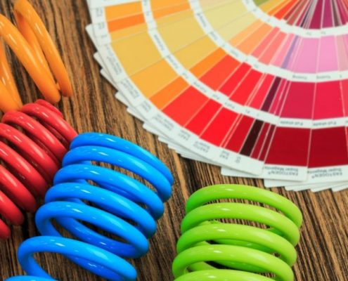 powder coating colour spectrum presennted