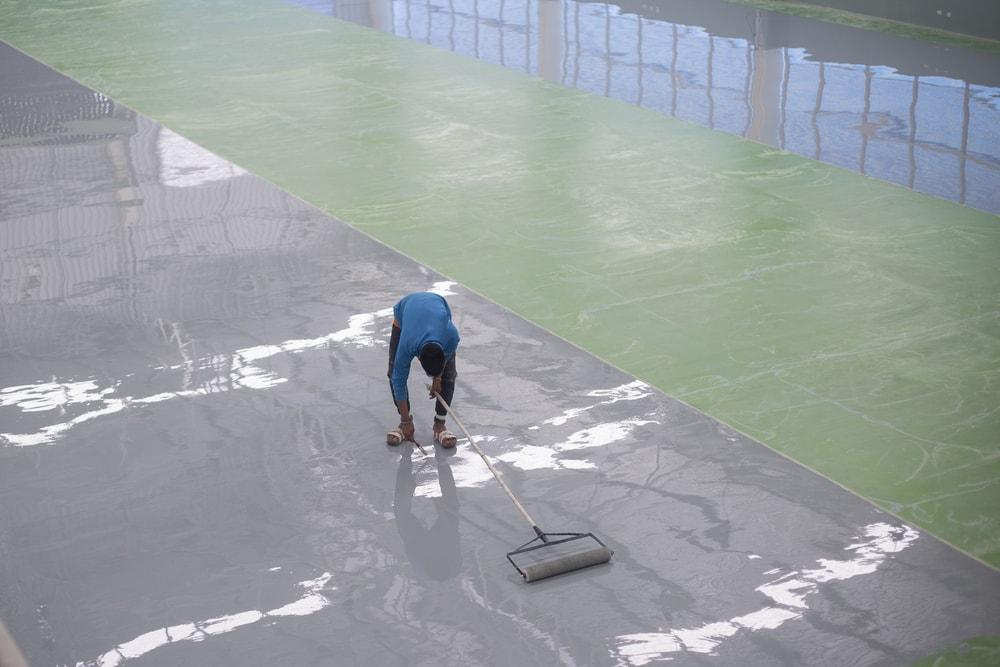 Concrete Floor Paint Kitchen