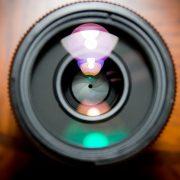 anti reflective coating on camera lens