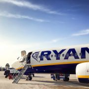 aerospace coating on irish ryanair plane