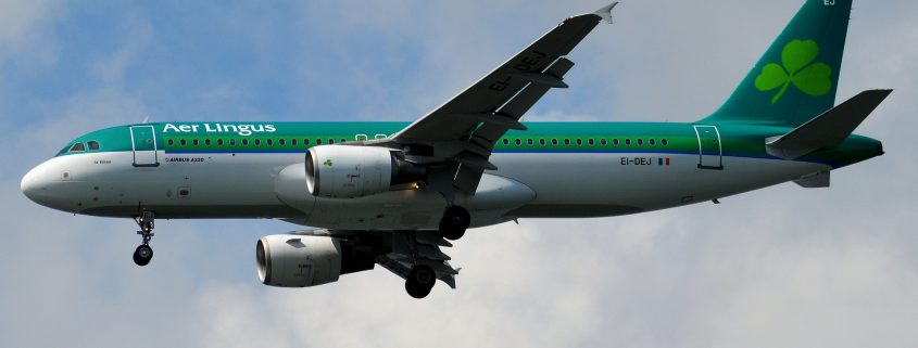 aer lingus plane coated with aerospace coatings