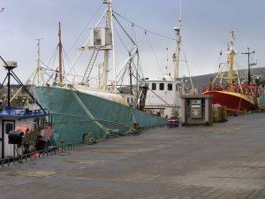 marine coating bottom paint on fishing boats in Ireland